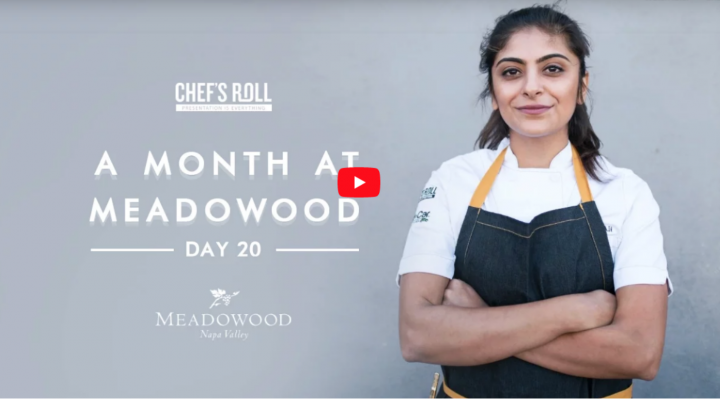Fati's new role as an apprentice at a three-star Michelin restaurant, brought her new skills, reflections and direction